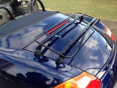 porsche-boxster-986-987-981-portapacchi-boot-rack-porta-bici-colore-nero