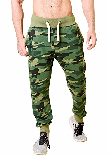 WYO Men's Camouflage Print Joggers Track Pant with 2 Side Pocket (X-Large)  available at amazon for Rs.899