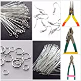 #10: Findings DIY jewellery silver tools combo for jewellery making- All findings with cutting-bending tools