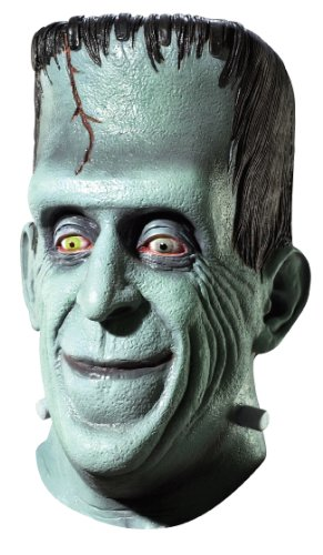 Rubie s Costume Co 4211 Die Munsters Herman Maske - Gr-n - One (Munster Herman Kostüme)