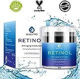 Betope Crema al Retinolo Anti Invecchiamento - Idratante Naturale con Retinolo 2,5%, Vitamina E, Vitamina A, Acido Ialuronico (50 ml)