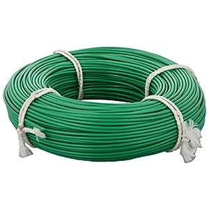 Seiko PVC Insulated Copper Conductor Cable 0.75 Sq mm Wire (Green)