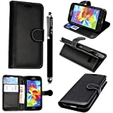 GSDSTYLEYOURMOBILE {TM} SAMSUNG GALAXY S3 S III I9300 MAGNETIC FLIP PU LEATHER CASE COVER POUCH + SCREEN PROTECTORS + STYLUS