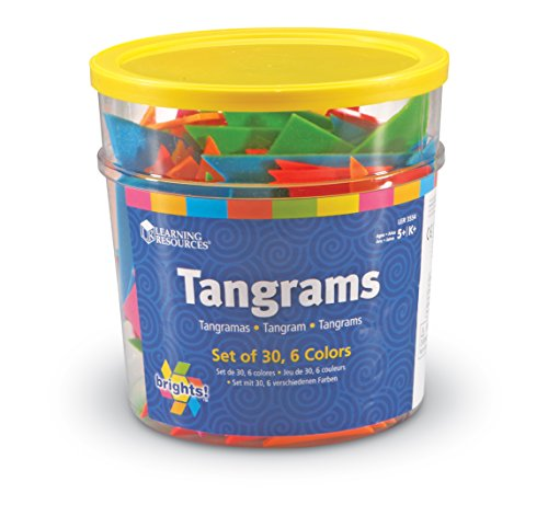 Learning Resources Brights! Tangrams, nspielzeug