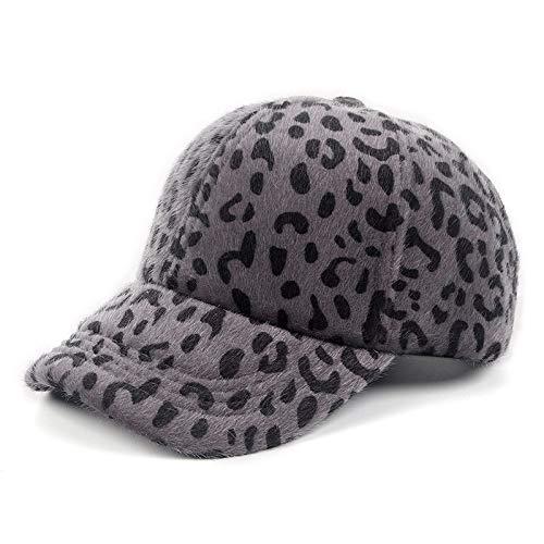 zhuzhuwen ModeEltern-Kind-mütze, Kappe, Sport Hut,plüschleopard baseballmütze 556-58 cm (Navy Seal Kinder Kostüm)