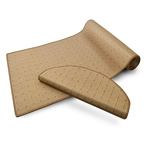 casa pura Stufenmatten   mit Punkt Muster   GUT-Siegel, made in Germany   kombinierbar mit Läufer  ...