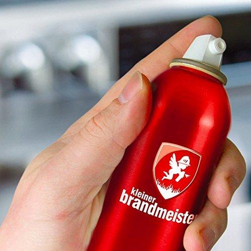 Preisvergleich Produktbild Kleiner Brandmeister® Feuerlöschhhelfer - Design Löschspray - Feuer richtig und schnell löschen