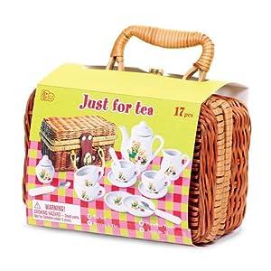 Tobar Picnic de Teddybear - Oso de Familia Mini Tea & Picnic Set del niño para los niños