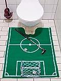 Toiletten Fussball Golf Set grün