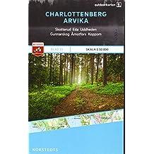 Outdoorkartan Schweden 15 Charlottenberg - Arvika 1 : 50 000: amtliche Karte