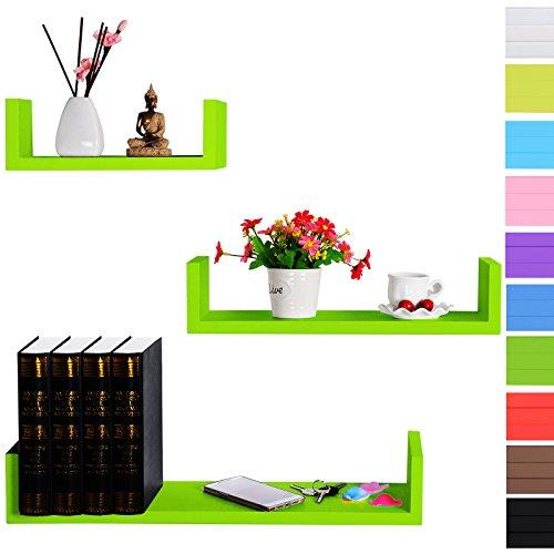 woltu-rg9239gn-b-set-3-mensole-muro-scaffale-parete-libreria-cd-legno-mdf-stile-retr-diametro-divers