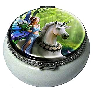 Realm Of Enchantment Mini Trinket Box By Anne Stokes