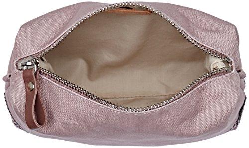 Vanessa Bruno Damen Cabas Trousse Coton Et Paillettes Clutch, 7x16x22 centimeters Pink (Poudre)