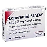 Loperamid STADA akut 2mg 10 stk