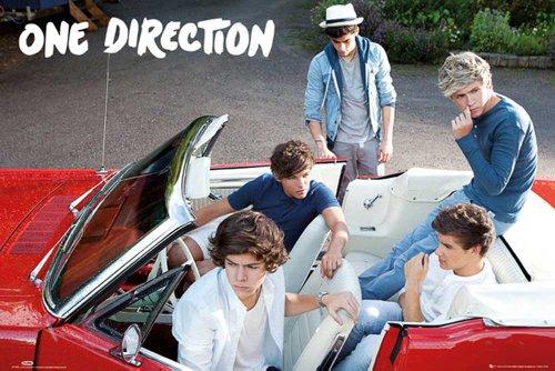 empireposter - One Direction - Car - Größe (cm), ca. 91,5x61 - Poster, NEU - (Night Direction Up Poster All One)