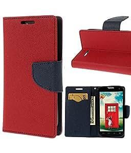 Winchip Mercury Flip Cover For Samsung Galaxy J5 - Red