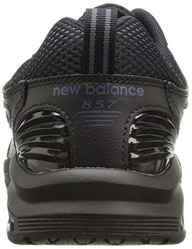 New Balance  Mx857v2, Herren Laufschuhe grau Charcoal/Charcoal Schwarz