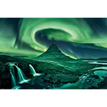 Pyramid International Aurora Borealis Maxi Poster, mehrfarbig