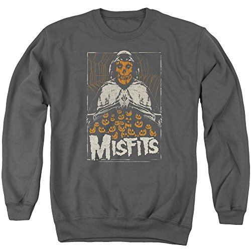 Misfits - - Ich erinnere Mich an Halloween-Pullover, Medium, Charcoal