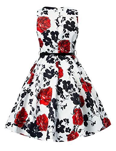 Zoom IMG-2 idgreatim little ragazza party vestito