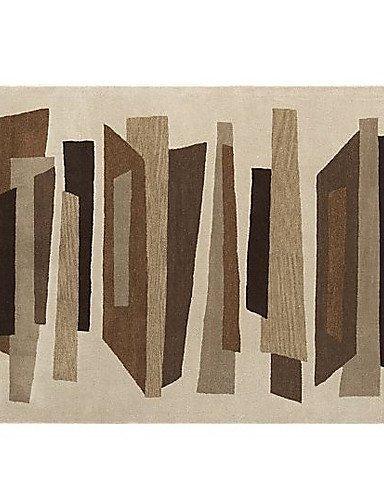 H&F@Wolle getuftet Teppich mit Blumenmuster 4 '* 6' - 6' Wolle Teppich