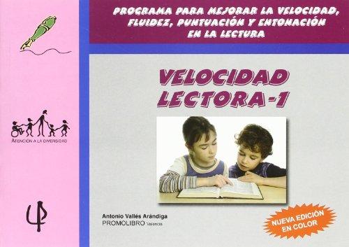 Velocidad lectora 1 (2ª ed.) (Atencion A La Diversidad)