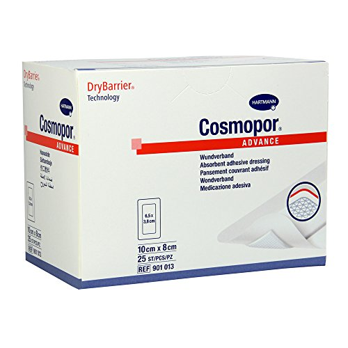 Stück Steril Post (Cosmopor Advance steriler Wundverband 10x8cm 25 Stück)