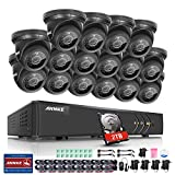 ANNKE 16CH 1080P Lite DVR for CCTV Security System with 2TB Hard Drive