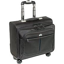 "PEDEA 66066250 17.3"" Trolley case Negro maletines para portátil - Funda (43,9 cm (17.3""), Trolley case, Negro, Poliéster, Monótono, 430 mm)"