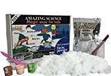 #10: DIY series: Magic artificial snow powder for kids 4+ yrs. Just add water, useful in school projects, return gifts, parties, games, Christmas, hobby ideas etc. Feels like real snow