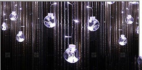 Starlight Led Lantern Light String Creative Small Light Bulb Curtain Light Flashing String Lights Outdoor Wedding Party Layout 120 3M ,