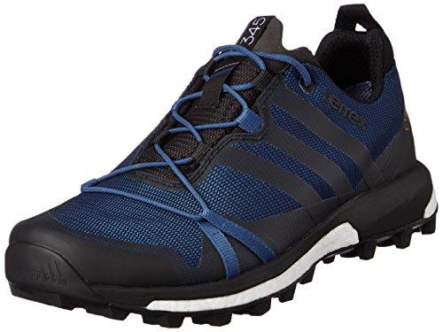 adidas Terrex Swift R Gtx W, Chaussures de Sport Femme Noir - Eqt Blue S16 / Core Black / Ftwr White