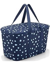 Reisenthel UH4044 Coolerbag Spots Navy Einkaufskorb Polyester 24.5 x 44.5 x 25 cm