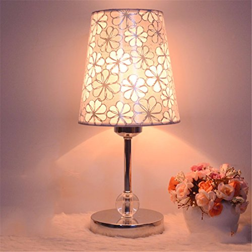 YU-K Tischlampe kreative Tischlampe Schlafzimmer Nachttischlampen Kristall Lampen, 10 einfache Tischlampen -