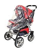 Best For Kids Universal-Regenschutz für Kinderwagen, Sportwagen, Shopper, Jogger oder Buggy mit Dach