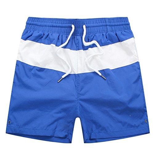 2 Pack Hommes Quick Dry Plage De Sable Loisirs Rayures Sports Natation Tronc Tailles Et Couleurs Assorties A