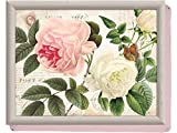 """""""Rose Garden"""" Cushioned Lap Tray by Creative Tops, 44 x 34 cm (17"""" x 13"""")"""