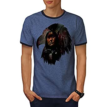 wellcoda Indisch Chef Cool Fantasie Männer S T-Shirt Zurück