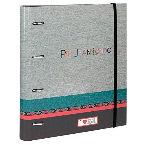 Cuaderno con anillas Pepe Jeans Katia