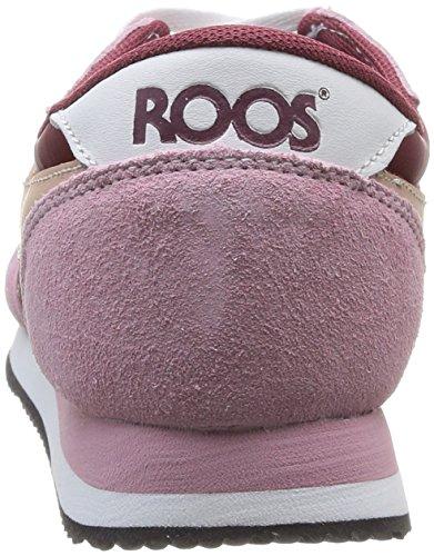 KangaROOS Invader Basic, Sneaker Donna Rosa (Rose (Dk Powder/Maroon 667))