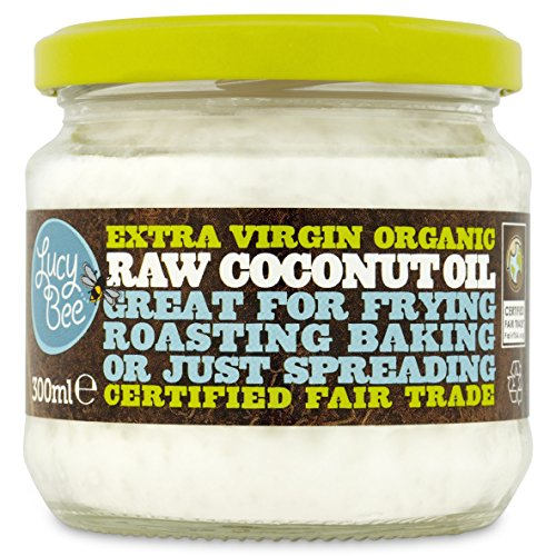 Lucy Bee Extra Virgin Fair Trade Organic Raw Coconut Oil 300ml