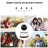 Decdeal WiFi IP Kamera Baby Monitor Überwachungskamera Sicherheitskamera, 720P, IR Nachtsicht, 2 Wege Audio, App IOS/Android/PC - 6