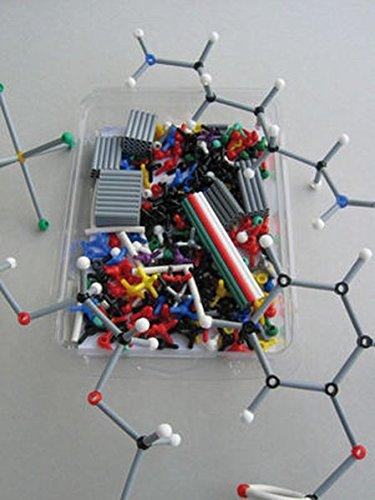 ORBIT Molekülbaukasten Chemie: Profi-Set mit 460 Teilen und farbigem Booklet