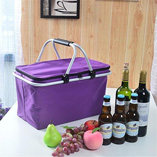 Wärmedämmung Beutel Picknick Hitze Bewahrung Tasche Outdoor Falten Wasserdichte Eis Wrap Inkubator , 2 - Hitze, Eis, Wrap