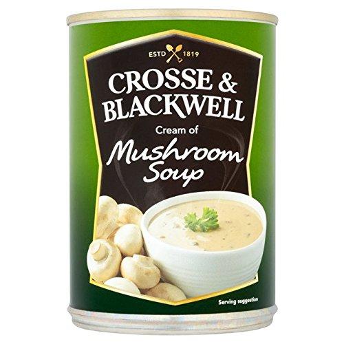 Crosse & Blackwell Creme der Pilzsuppe 400g (Crosse Und Blackwell)