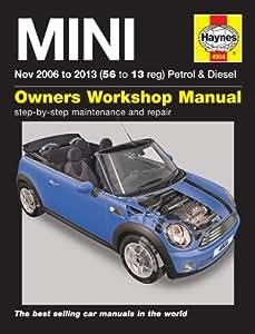 Mini Repair Manual Haynes Manual Service Manual Workshop Manual 2006