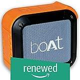 (Renewed) boAt Stone 200 Portable Bluetooth Speakers (Orange)