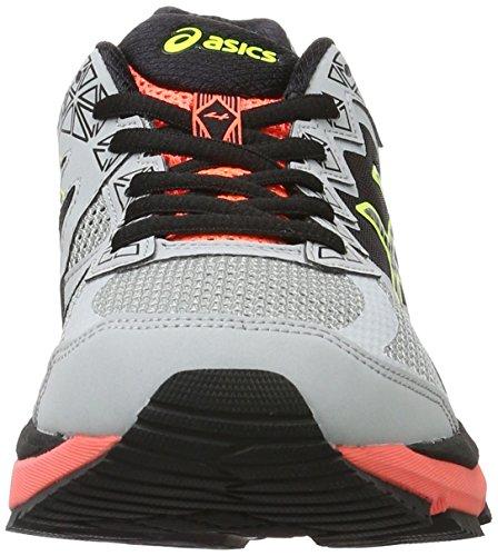 Asics Gt-2000 4, Scarpe da Corsa Donna Argento (Midgrey/Black/Flash Coral)