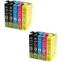 Prestige Cartridge Epson 18XL 10 Cartucce d'Inchiostro Compatibile per Stampanti