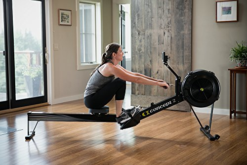 Concept2 Model D Indoor Rower with PM5 Monitor, Black